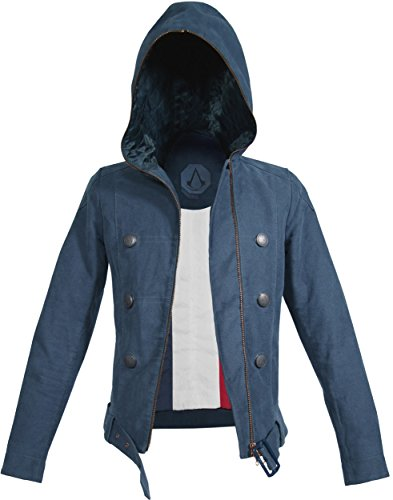 Musterbrand Assassin's Creed Jacke Damen La Liberté/Gaming Bekleidung Blau XL