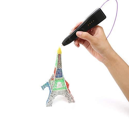 3D Stift, 3D Stifte für Kinder, 3D Druck Stift Set Geeignet für PLA/ABS Farben für DIY, Handgefertigte Werke, Einzigartige Geburtstags-Und Weihnachtsgeschenke