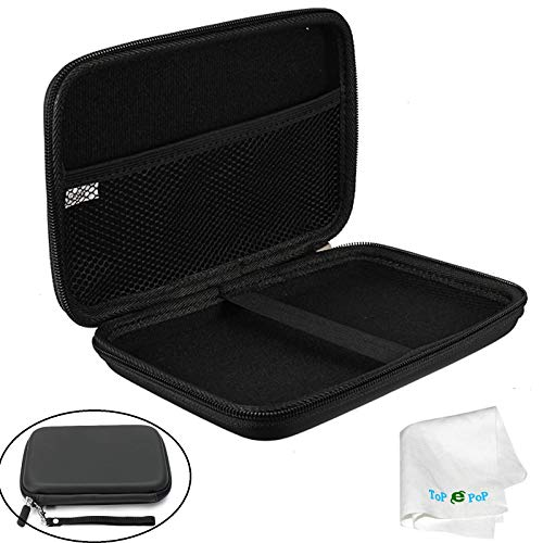 7 Inch GPS Case Hard Protective Pouch Carrying Case GPS Bag Cover Travel Bag Compatible with Garmin Nuvi 2797lmt 2798LMT 2757LM Dezl 760lmt 6 7 Inch Navigator Magellan Tomtom GPS Devices Black