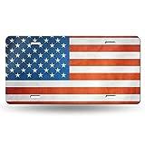ナンバー ナンバープレート アメリカ合衆国国旗 ナンバープレートベース 普通車 軽自動車適用 雑貨 6x 12 INCH
