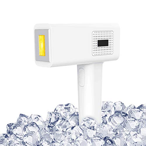 L-YG Epilatore ricaricabile IPL Haarentfernungs-System for Frauen, Freezing Point Laser-Haarentfernung Gerät, Haushalt Körperhaarentfernungsgerät, Smart Touch, for den Heimgebrauch Per Epilatore ein b
