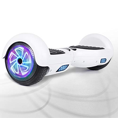 "FLYING-ANT Hoverboard Electric Self Balancing Scooter 6.5"" Two LED Light Wheels UL2272 Certified Outdoor Sports Easy to Begin Ideal Gift for Adult Children"