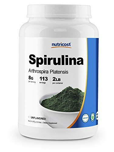 Nutricost Spirulina Powder 2 Pounds - Pure, High...