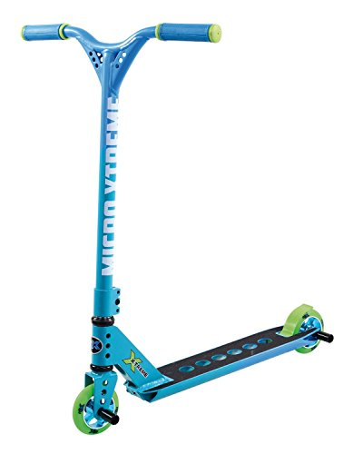 Micro Trottinette Stunt MX trixx 2.0 Rainbow Blue Freestyle - Bleu - 85 cm