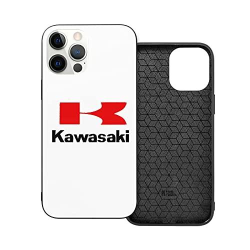 Jinfugongmao Compatibile con iPhone 12/11 PRO Max 12 Mini SE X/XS Max XR 8 7 6 6s Plus Custodie Kawasaki Nero Custodie per Telefoni Cover