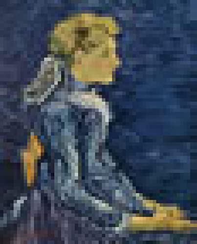 Kit de pintura diamante 5d Por NúMero Diamond Painting Completo Diy 5d Diamante Pintura Kits Cristal Bordado De Punto De Cruz Pinturas Famosas van Gogh Retrato de Adeline Ravoux 30x40cm