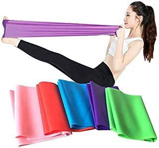 SKY-TOUCH Flat Resistance Band, Elastic Exercise Equipment, Straight Stretching Fitness Training for Full Body Leg, Crossf...