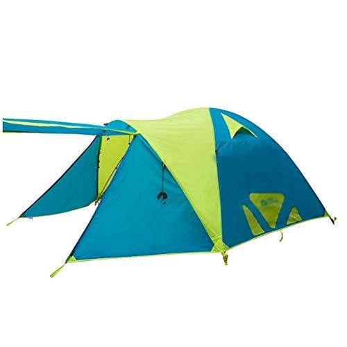 ZXC Home Outdoor-tent, waterdicht, winddicht, waterdicht en ademend, van aluminiumlegering, opvouwbaar, camping