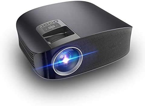 ZouYongKang Mini proiettore 2021 Video-proiettore Portatile aggiornato, 30.000 Ore Multimedia Home Theater Proiettore cinematografico, WiFi Home HD 1080p Camera da Letto Portatile