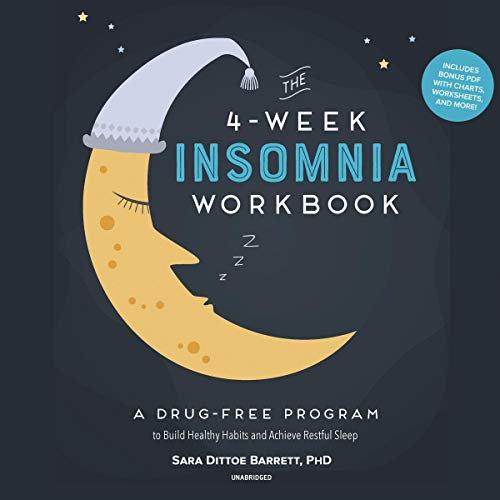 The 4-Week Insomnia Workbook audiobook cover art