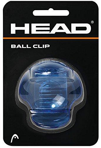 Head Tenis Ball Clip para Pelotas Transparente (Azul)