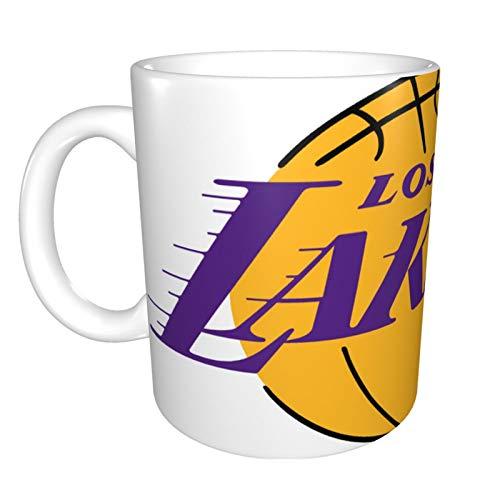 Los Angeles Lakers Lustige Tasse, 325 ml, Keramik, lustig, sarkastisch, motivierend, inspirierendes Geburtstagsgeschenk für Frau, Freundin, Freunde, Kollegen, Mutter, Oma.