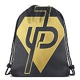 asdew987 Bolsas con cordón Jake Pauls Unisex Mochila con cordón, bolsa de deporte, bolsa grande con cordón, mochila de gimnasio a granel