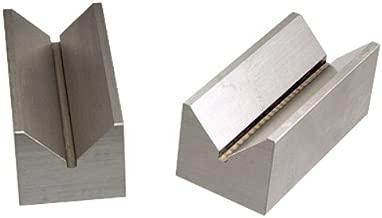 HHIP 3 X 1.4 X 1.2 INCH Steel V-Block Set Capacity 1.25 (3402-1017)