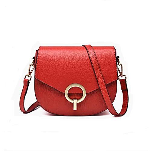 Mevrouw Messenger Bag lederen handtas kleine schoudertas mode tas eerste laag van leer pakket