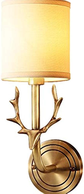 Rfsbqlcs Vintage kreative Wandleuchte. Schlafzimmer Nachttischlampe. Indoor Nachtwandleuchte. Wohnzimmer Gang Tischlampe. Moderne minimalistische Wandleuchte. Art Deco Lampe