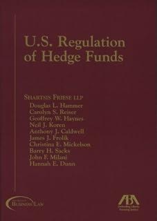 U.S. Regulations of Hedge Funds