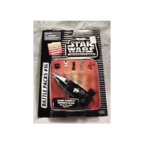Star Wars Micro Machines Action Fleet Battle Pack #16 Lars Family Homestead Set