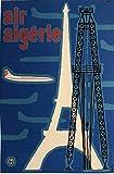 Air Algerie Poster, Reproduktion, Format 50 x 70 cm, Papier