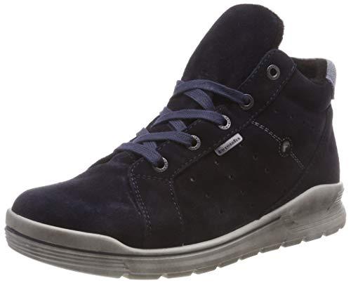RICOSTA Jungen MAEL Hohe Sneaker, Blau (See 183), 36 EU