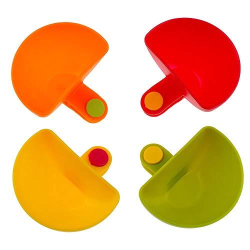 Dip Clips Bowl Houder Plastic Plaat Houder Dip Houders Container voor Spice Tomatensaus Zout Azijn Suiker Ketchup Container