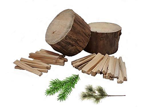 Anzündholz TROCKEN 30 kg Brennholz Kaminholz Anfeuerholz Anmachholz Kiefer/Fichte