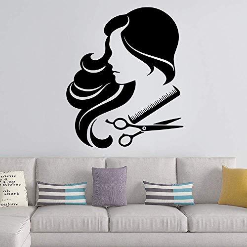 57X68Cm Lustiger Haarschnitt Wandaufkleber Wohnaccessoires Kinderzimmer Kinderzimmer Wanddekoration Wandaufkleber Wasserdicht Desivi Murali