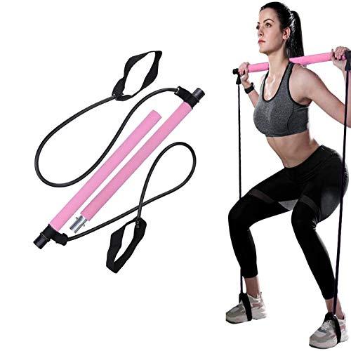 ABsuper Pilates Bar Set, Portabl...