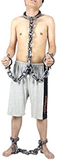 Iron Handcuffs Prison Halloween Bachelor Party Civil War Hand Cuffs Dungeon