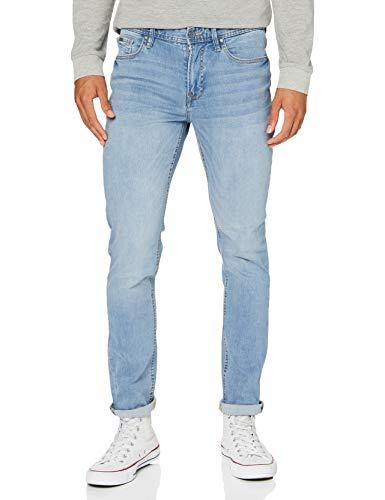Springfield Active Flex Skinny Pantalones, Azul (Medium_Blue 175738515), 36 (Tamaño del Fabricante: 36) para Hombre