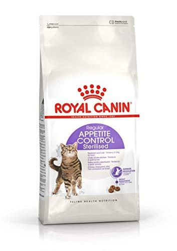 Royal Canin - Sterilised Appetite Control / Chat Stérilisé Quémandeur 1 à 7 Ans - Sac 2 Kg