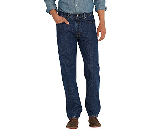 Levi's Men's 550 Relaxed Fit Jeans Dark Stonewash 34x31