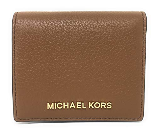Michael Kors Jet Set Travel Medium Lederen Kaartetui Portemonnee