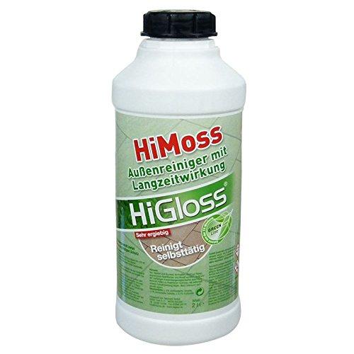 HiGloss HiMoss Außenreiniger - Grünbelagsentferner 2 Ltr.
