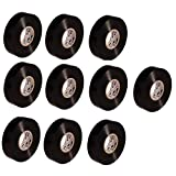 3M スコッチ 電気絶縁用ビニルテープ 117 黒 19mm×20m 117 BLA 20 (10)