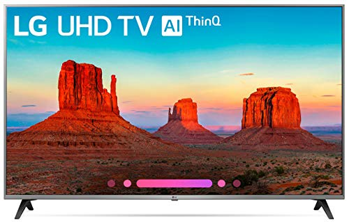 LG Electronics 65UK7700 65-Inch 4K Ultra HD Smart LED TV (2018 Model) (Renewed)