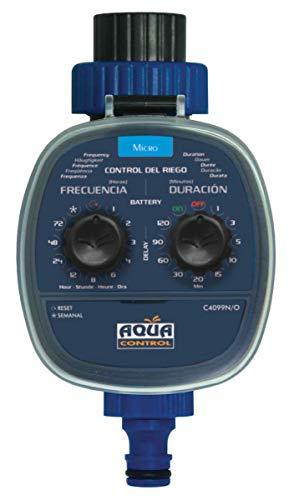 Aqua Control C4099O Programador de Riego para Jardín, para Todo Tipo de Grifos, Apertura a 0 Bar. Antiguo C4099N