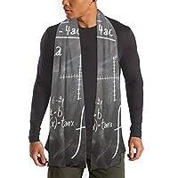 スカーフ マフラー レディース メンズ用襟巻き 面白いファッション小物 保温 防寒 防風スカーフ おしゃれ秋冬用定理 数学 公式