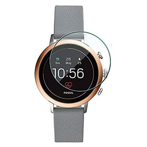 Disscool gehard glas Screen Protector voor Fossil vrouwen Gen 4 Sport hartslag Smartwatch(41 mm), 0,33 mm dikte met echt glas