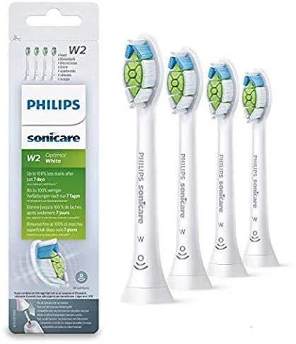 Juego de 4 cabezales de cepillo de dientes eléctrico HX6064 para cepillo...