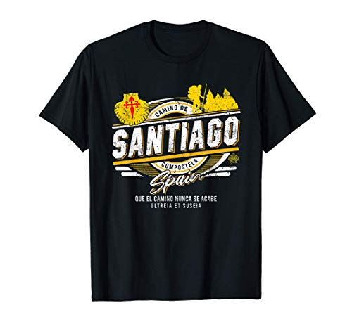Camino de Santiago España Regalo para Peregrinos Camiseta