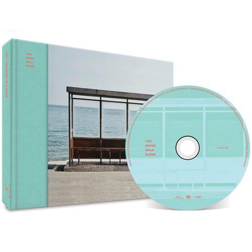 BTS-[WINGS:YOU NEVER WALK ALONE] Album LEFT ver. CD+Photobook+PhotoCard SEALED Bangtan
