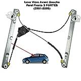 APDISTRIBUTION Mecanisme de Leve Vitre Electrique sans Moteur Avant Gauche Chauffeur Conducteur pour Fiesta V (3 Portes) 1233193