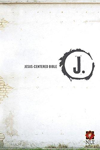 Jesus-Centered Bible NLT, Hardcover