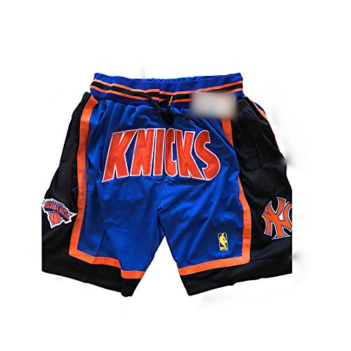 ULIIM Basketball Knicks a Pantaloncino da Uomo Alta-qualità Mesh Retro New York Knickss Swingman Pantaloncini Sportivi M-XXL
