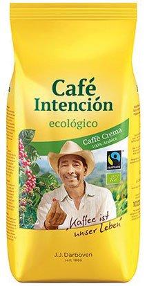 2x Fairtrade J.J.Darboven - Café Intención ecológico Café Crema, Bio-Kaffee, Ganze Bohne - 1000g