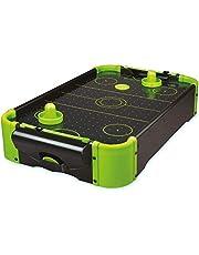 Funtime Gifts PL7780 Air Hockey - Juego de Mesa de 20 Pulgadas, Color neón