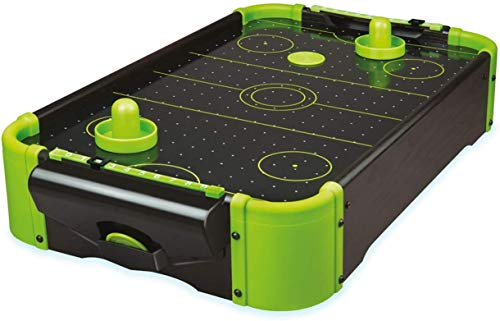 Unbekannt Funtime Gifts pl7780 Air Hockey 20 Version Tisch Top Family Game, Neon