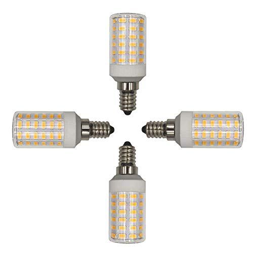 SHKUU Paquete 2 Bombillas LED Tipo maíz, Tornillo Edison, 2000LM, Blanco frío 6000K