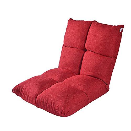 XING ZI LAZY SOFA L-R-S-F Canapé Paresseux, Fauteuil d'ordinateur de lit, Petit canapé Simple partagé, dortoir Japonais Pliant Canapé-lit de fenêtre de Baie (Couleur : # 2)